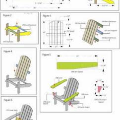 Plans Adirondack Chairs Free White Slip Covers For Dining Room Diy Chair |build Adirondak