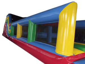 Rainbow obstacle course Hire