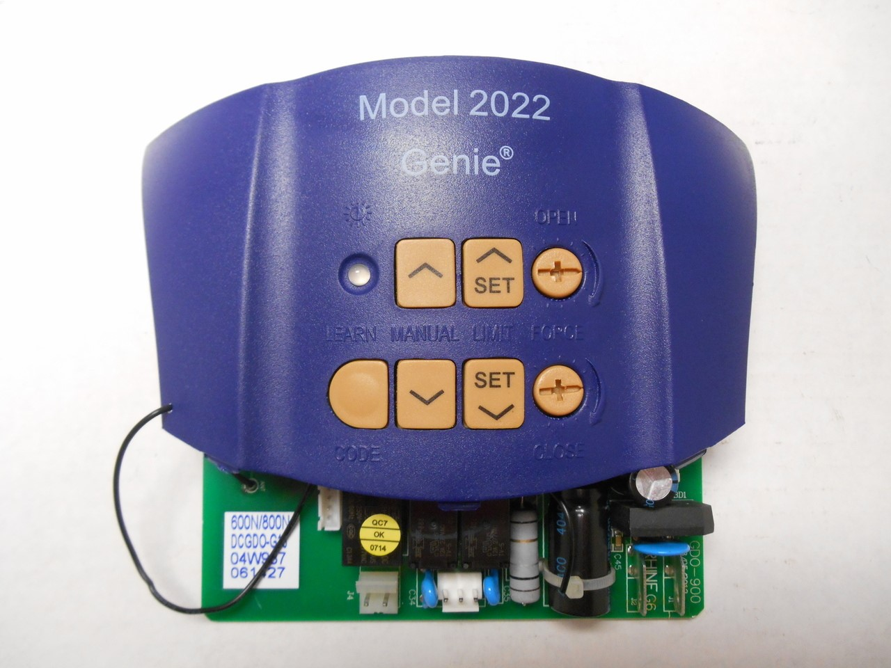 hight resolution of circuit board for the overhead door model 2022