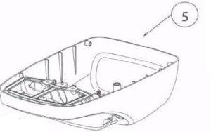 Genie 37564R.S IntelliG 1000 Garage Door Opener Cover