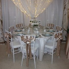 Chair Cover Rentals Quad Cities Patterned Fabric Club Chairs And Tables Aaa Rents