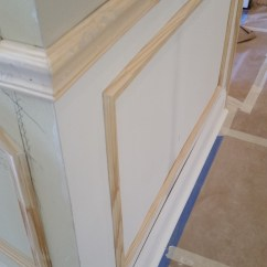 Commercial Chair Rail Wedding Covers In Essex Wainscoting Faux Picture Frames And