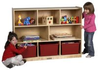 ECR4Kids Extra Large Birch Storage Cabinet - AAA State of Play