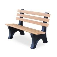Comfort Park Avenue Bench by Jayhawk Plastics - Outdoor ...