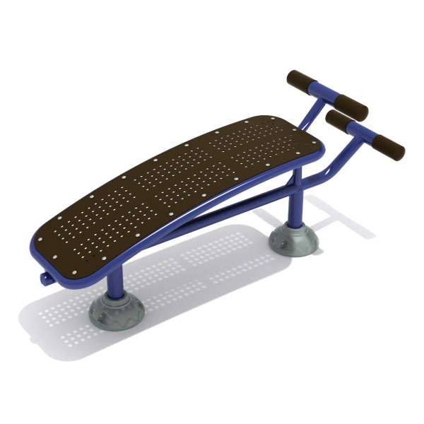 Single Sit Bench Outdoor Fitness Playground