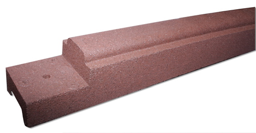 rubber curbing playground