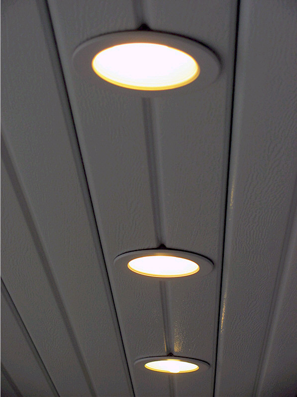 Recessed Lighting for Alumawood Patio Covers  AAA Sun Control