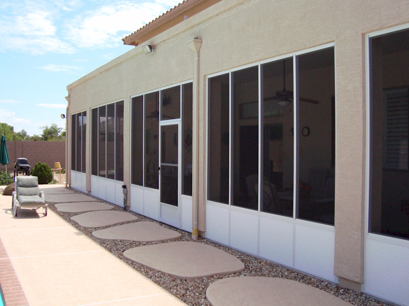 Alumawood Screened Patio Enclosures  AAA Sun Control