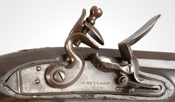 Ketland Flintlock Pistol Officers Quality F693