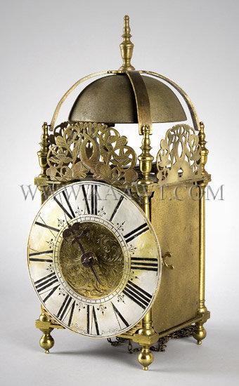 Lantern Clock By William Risbridger Circa 1700 to 1720