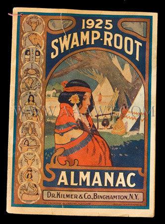 Swamp Root Almanac 1925
