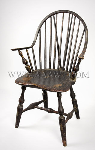 antique windsor chair identification baseball glove office image and candle