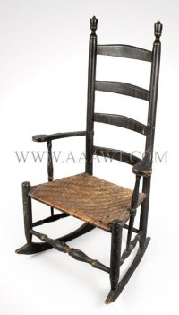 Antique Furniture_Chairs, Early, Country, Pilgrim, American