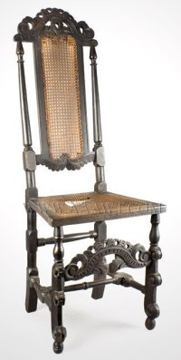 Antique Furniture_Chairs, Early, Country, American
