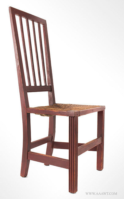 Antique Furniture_Chairs Early Country Pilgrim American