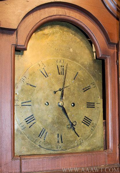 Antique Furniture_Tall Case Clocks American clocks Early