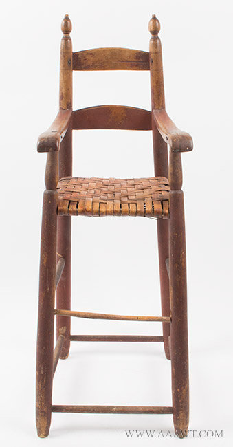 high chair wooden legs portable massage for sale antique furniture childs miniature 987 14 sold