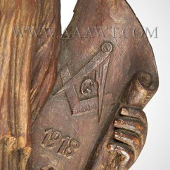 Antique Windsor Chair Two Rocking Chairs On A Porch Wall Carvings, Cake Boards, Carved Folk Art