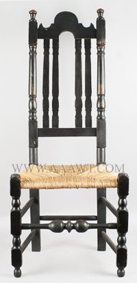 Antique Furniture_Chairs, Early, Pilgrim, American