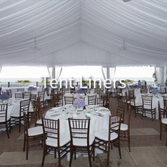 Chair Covers Rental Cleveland Ohio Brown Leather Club And Ottoman Wedding Rentals Tent Aable Rents Able Provides Liners In Liner Sub