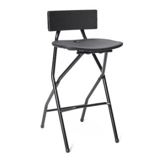 folding bar stool chairs of the world gw2 chair rental cleveland ohio aable rents black
