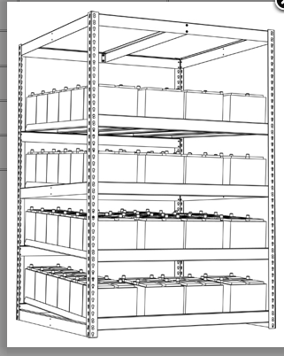 Battery Racks « A&A Boltless Rack and Shelving
