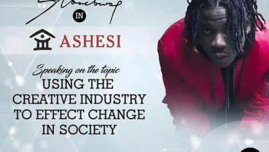 Photo of STONEBWOY TO LECTURE @ ASHESI UNIVERSITY ON FEB. 2