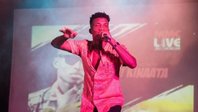 Photo of Kofi Kinaata, Jacinta, DKB, Lexis, Khemikal and Voncujovi thrill Patrons at GMA's MMC Live
