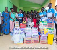 Photos: Jaddia Foundation donates to Mothers Care Orphanage home in Agona Swedru