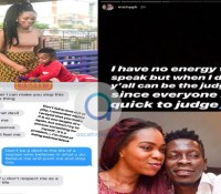Shatta Michy Elopes with Majesty + Screenshots of Conversation Between Wale And His Girlfriend