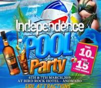 Independence Pool Party Slated For March 6 &7