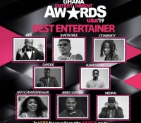 NOMINATIONS FOR 2019 GHANA ENTERTAINMENT AWARDS USA REVEALED | SEE FULL LIST