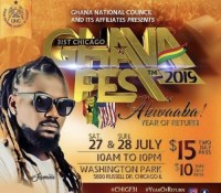 Samini to rock GhanaFest 2019 Concert in USA this July