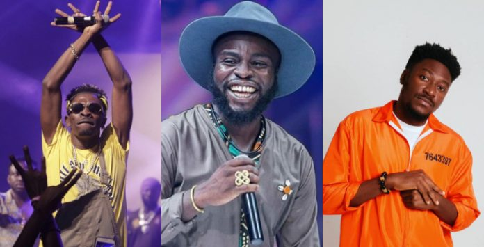 Shatta Wale, M.anifest and Guilty Beatz Grammy nomination