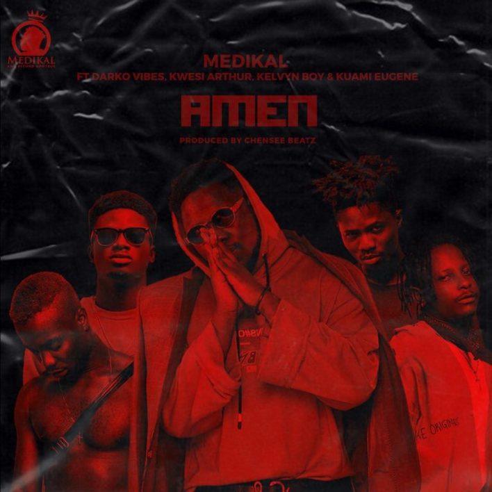 Medikal – Amen ft. Kuami Eugene x Kwesi Arthur x Darkovibes x Kelvynboy