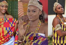 Photo of Wendy Shay And EShun Crowned Queens At Gomoa Afransi