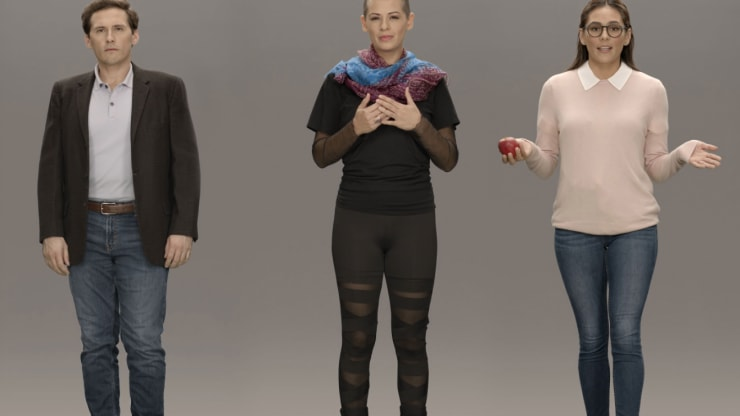 Samsung's Neon 'artificial humans' look like super-realistic video chatbots