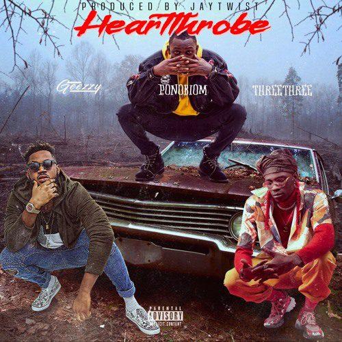 Geezzy – Hearttrobe Ft. Yaa Pono & ThreeThree (Prod. by Jay Twist)