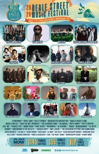 Sarkodie & Stonebwoy Only Ghanaians Listed For 2020 Beale Street Music Festival in USA