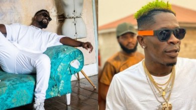 Photo of Sarkodie's first reaction after Shatta Wale called him & his SarkNation fans fools