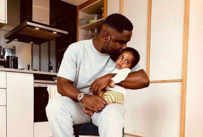 Meet Sarkodie's Newborn Son, Michael Nana Yaw Owusu Addo Jnr