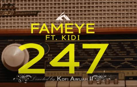 Official Video: Fameye - 247 Ft KiDi