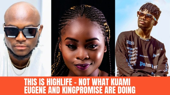 """""""This is Highlife - Not what Kuami Eugene and King Promise are doing"""" - Ricky Rick of 3 Music signed up to NaaNa Blu's Highlife EP"""