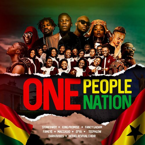 Stonebwoy – One People One Nation ft. King Promise, Fancy Gadam, Fameye, Efya, Teephlow, Maccasio, Darkovibes & Bethel Revival Choir.