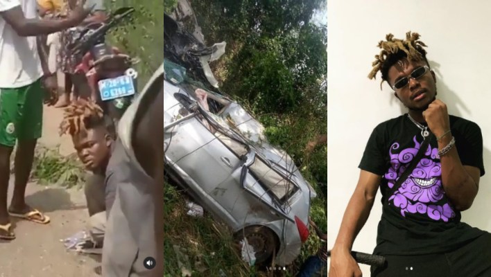 Video: Quamina Mp Survives Car Crash Accident