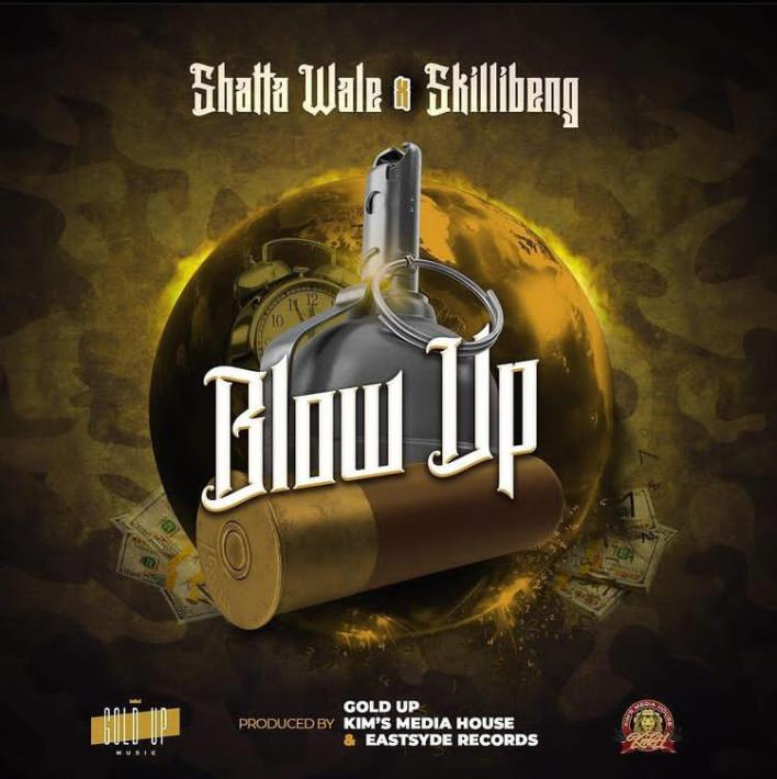 Shatta Wale x Skillibeng – Blow Up (Prod By Gold Up)