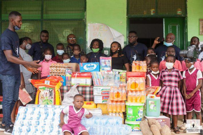 PHOTOS: Advance Ghana Foundation Donates To New Life International Orphanage Home
