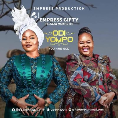 Empress Gifty – Odi Yompo (You Are Lord) Ft Zaza Mokhethi mp3 download