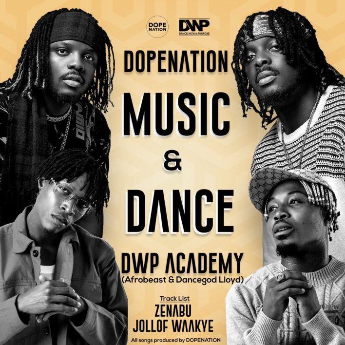 Dopenation – Jollof Waakye Ft Dancegod Lloyd x Afrobeast & DWP Academy mp3 download