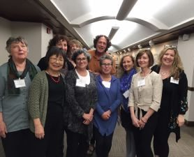 AACFM teachers with Fred Luskin at the Forgiveness Workshop.